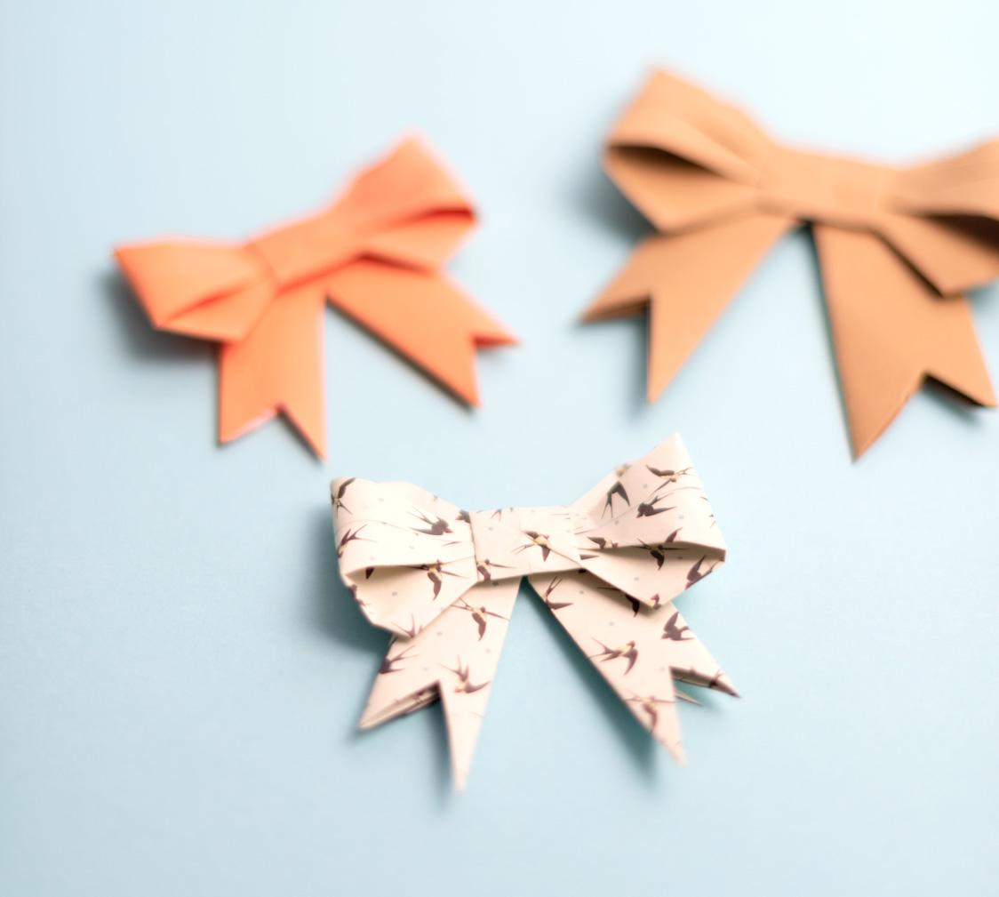 Origamischleife - beitrag_origamischleifen