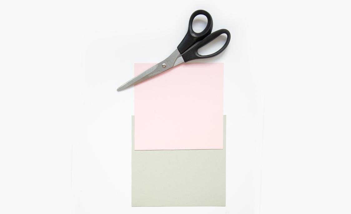 Quadrate ausschneiden
