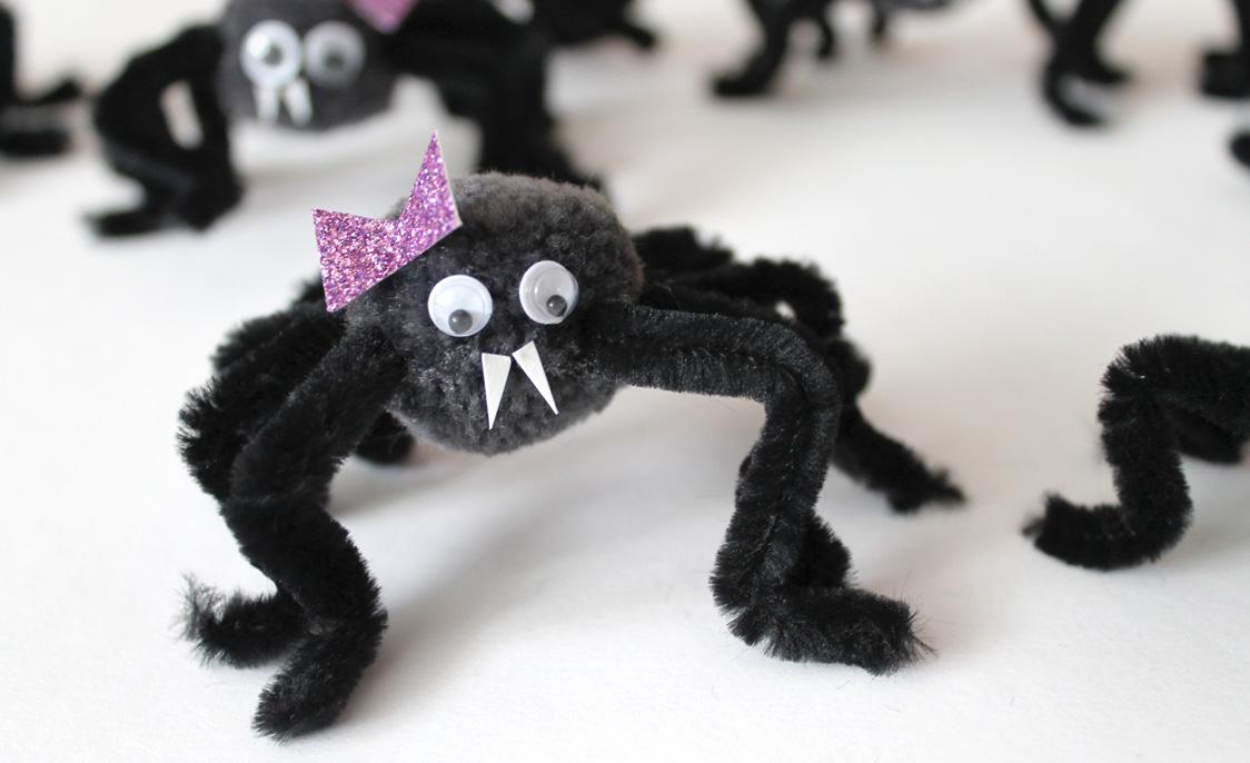 Spinne sieht so aus